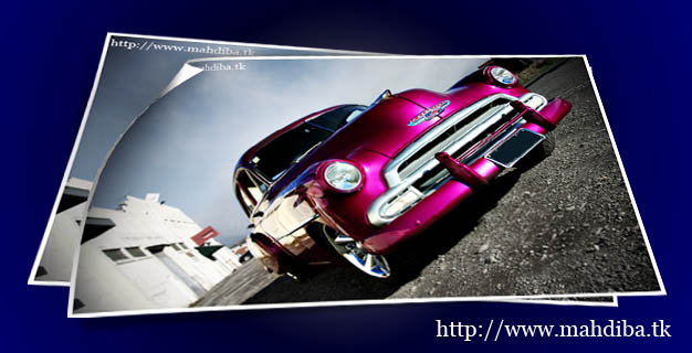 پوسترهای زیبا از اتومبیل های کلاسیک دهه 1950میلادی